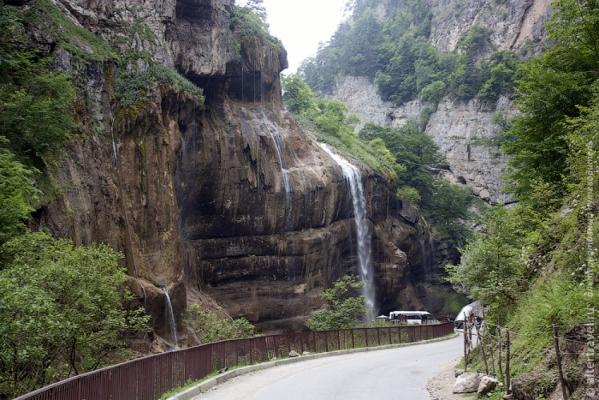Чегемские водопады (короткая)